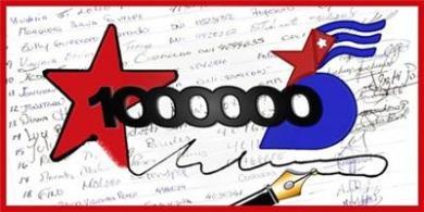 """Un millón de firmas por """"Los Cinco"""". Click sobre la imagen para firmar (Diseñada por Paco Bernal)"""