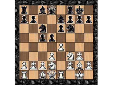 La última jugada de Tony parece un tanto agresiva, fue e4.