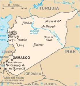 Siria tiene una excelente posición geográfica